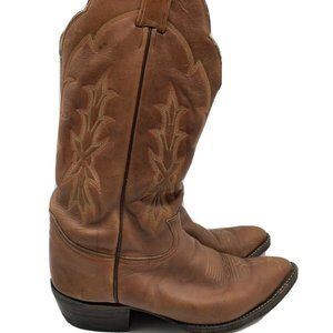 Tony Lama Mens Western Cowboy Leather Boots 9EE